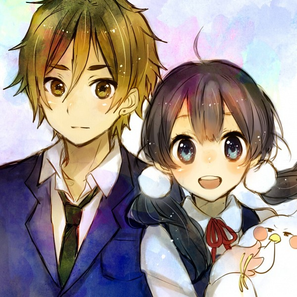 Tags: Anime, Tamako Market, Ooji Mochizou, Dera Mochimazzi, Kitashirakawa Tamako, Fanart, Artist Request
