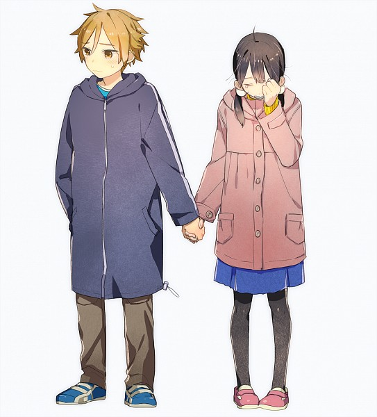 Tags: Anime, Momose (oqo), Tamako Market, Kitashirakawa Tamako, Ooji Mochizou, Pixiv, Fanart, Fanart From Pixiv