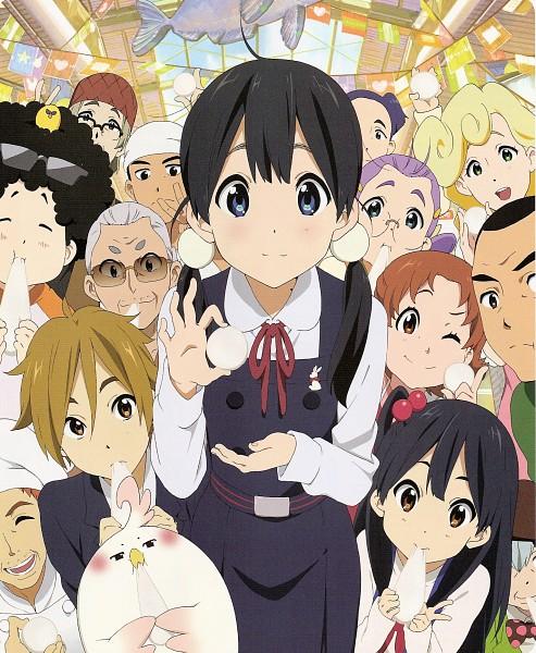 Tags: Anime, Kyoto Animation, Tamako Market, Kitashirakawa Tamako, Ooji Mochizou, Ooji Gohei, Yaobi Kunio, Uotani Mari, Kitashirakawa Mamedai, Uotani Takashi, Shimizu Tomio, Dera Mochimazzi, Tokiwa Nobuhiko