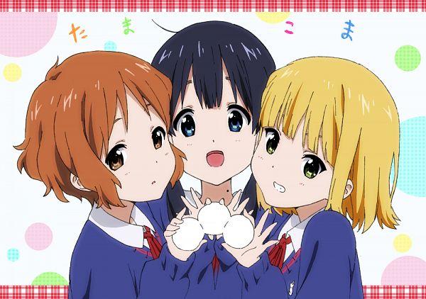 Tags: Anime, Ginmaru, Tamako Market, Tokiwa Midori, Kitashirakawa Tamako, Makino Kanna, Pixiv, Fanart, Fanart From Pixiv