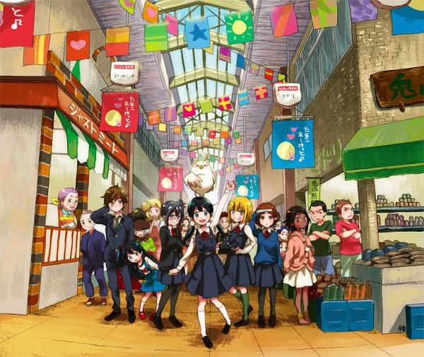 Tags: Anime, Ryouga (fm59), Tamako Market, Ooji Gohei, Yumoto Sayuri, Kitashirakawa Anko, Ooji Mochizou, Kitashirakawa Fuku, Yaobi Kunio, Makino Kanna, Uotani Mari, Kitashirakawa Mamedai, Uotani Takashi