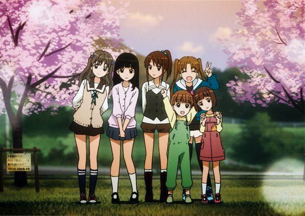 Tags: Anime, TYO Animations, Tamayura, Sakurada Maon, Okazaki Norie, Mitani Kanae, Hanawa Kaoru, Shinoda Komachi, Sawatari Kou, Official Art, Scan