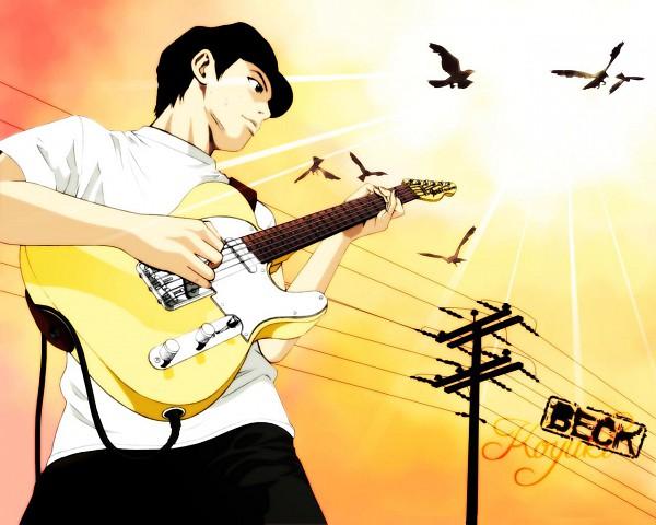 Tags: Anime, Beck, Tanaka Yukio, Fender Guitar, Playing Guitar