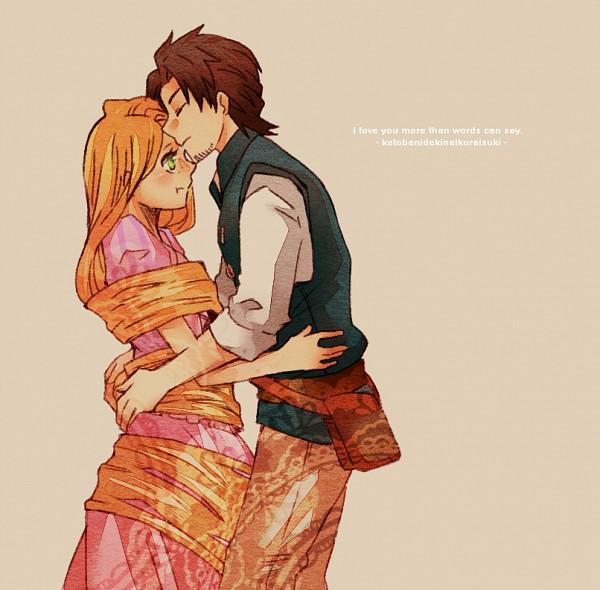 Tags: Anime, Pixiv Id 1724363, Rapunzel, Tangled (Disney), Rapunzel (Character), Flynn Rider (Eugene Fitzherbert), Rapunzel (Tangled), Disney, Pixiv, Fanart From Pixiv, PNG Conversion, Fanart