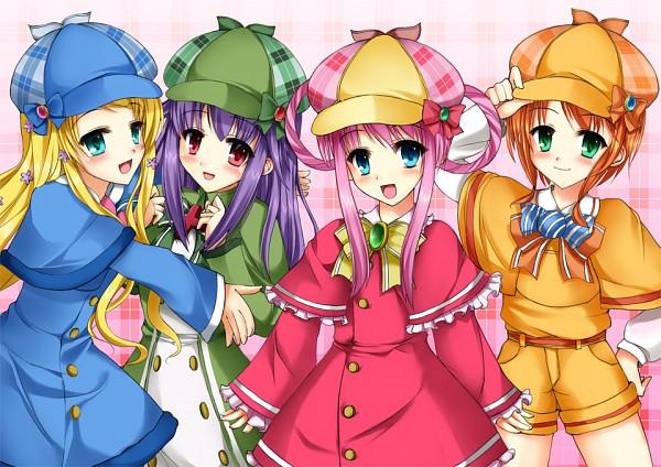 Tags: Anime, Goushou, Tantei Opera Milky Holmes, Cordelia Glauca, Yuzurizaki Nero, Sherlock Shellingford, Hercule Barton