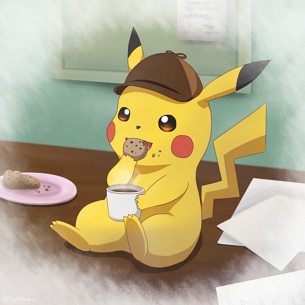 Tantei Pikachu - Pikachu