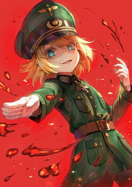 Tags: Anime, Pixiv Id 4570006, Youjo Senki, Tanya Degurechaff, Mobile Wallpaper