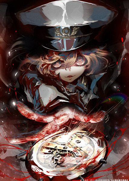 Tags: Anime, Shinotsuki Shinobu, Studio NuT, Youjo Senki, Tanya Degurechaff, Official Art
