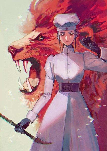 Tags: Anime, Pixiv Id 1628805, Karakuri Circus, Drum (Karakuri Circus), Taranda Lieselotte Tachibana, Fanart, Fanart From Pixiv, Pixiv