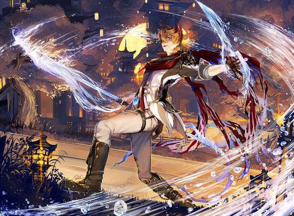 Tags: Anime, Petraii, Genshin Impact, Tartaglia, Twitter, Fanart From Pixiv, Pixiv, Fanart