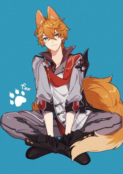 Tags: Anime, Aee Gnsn, Genshin Impact, Tartaglia, Twitter, Fanart