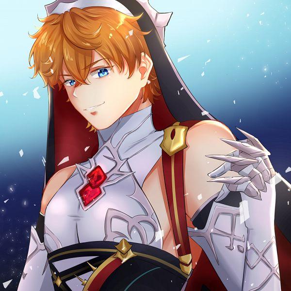 Tags: Anime, Pixiv Id 21542913, Genshin Impact, Tartaglia, Metal Claws, Rosaria (Cosplay), Genshin Impact (Cosplay)