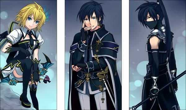 Tags: Anime, 3u, Tartaros Online, Izan, Angelina (Tartaros), Aelrot, Pixiv, Fanart