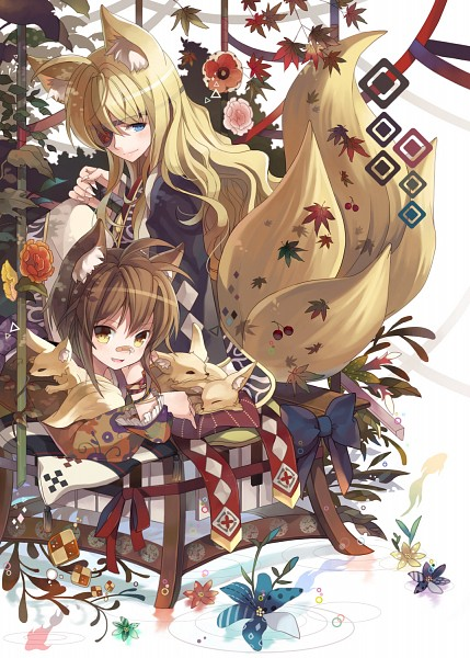 Tags: Anime, Renian, Tartaros Online, Kara (Tartaros), Nagi (tartaros), Mobile Wallpaper