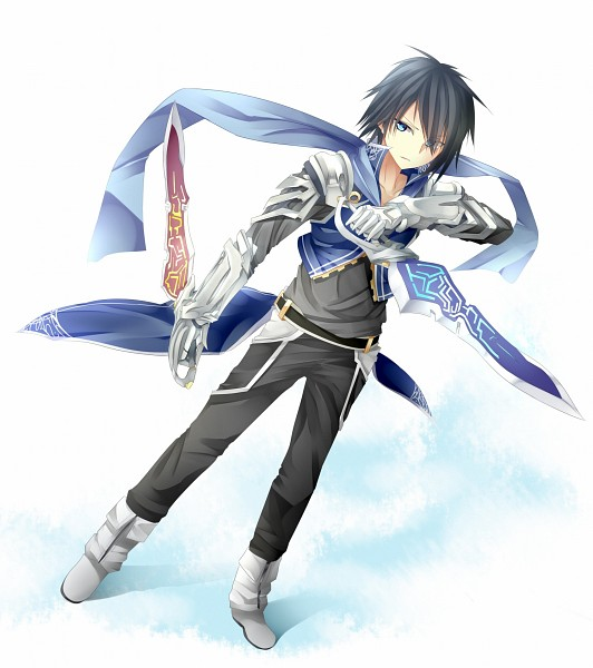 Anime Characters Use Dual Swords : Tarutaru image zerochan anime board