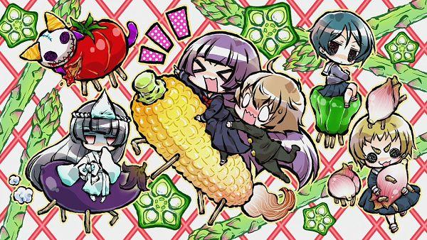 Tags: Anime, Aboshi Mako, Tasogare Otome x Amnesia, Kanoe Kirie, Okonogi Momoe, Niiya Teiichi, Kanoe Yuuko, Wallpaper, HD Wallpaper, End Cards, Tasogare Otome X Amnesia - End Cards, Dusk Maiden Of Amnesia
