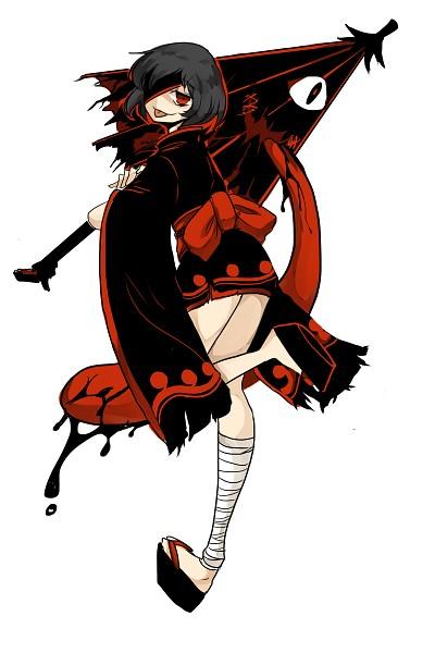 Tags: Anime, Shigureru, Touhou, Tatara Kogasa, Karakasa Obake, Fanart, Fanart From Pixiv, Mobile Wallpaper, Pixiv, Kogasa Tatara