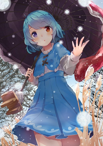 Tags: Anime, Yukizumi Remon, Touhou, Tatara Kogasa, Mobile Wallpaper, Fanart, Fanart From Pixiv, Pixiv, Kogasa Tatara