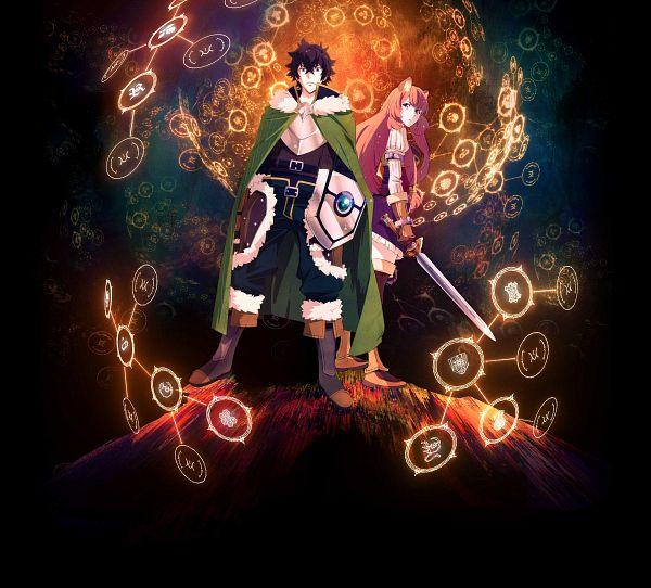 Tags: Anime, Suwa Masahiro, Kinema Citrus, Tate no Yuusha no Nariagari, Raphtalia, Iwatani Naofumi, Key Visual, Cover Image, Official Art, The Rising Of The Shield Hero