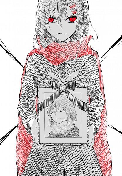 Tags: Anime, Pixiv Id 6335662, Kagerou Project, Tateyama Ayano, X (Symbol), Fanart From Pixiv, Pixiv, Fanart