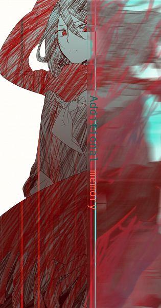 Tags: Anime, Pixiv Id 13049621, Kagerou Project, Tateyama Ayano, Floating Scarf, Fanart, Fanart From Pixiv, Pixiv