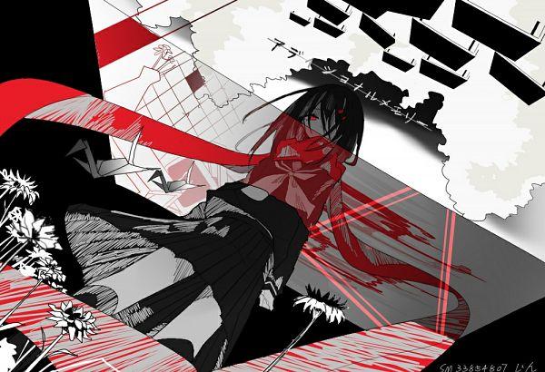 Tags: Anime, Pixiv Id 8175447, Kagerou Project, Tateyama Ayano, Floating Scarf, Fanart From Pixiv, Pixiv, Fanart