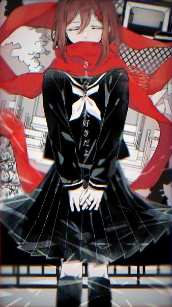 Tags: Anime, Pixiv Id 15183817, Kagerou Project, Tateyama Ayano, Quote, Fanart From Pixiv, Pixiv, Fanart
