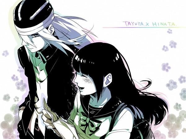 Tags: Anime, Kazari Tayu, NARUTO, Tayuya, Hyuuga Hinata, Fanart, Pixiv, Wallpaper, TayuHina