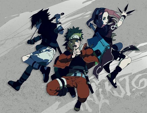 Tags: Anime, NARUTO, Uchiha Sasuke, Uzumaki Naruto, Haruno Sakura, Artist Request, Team 7