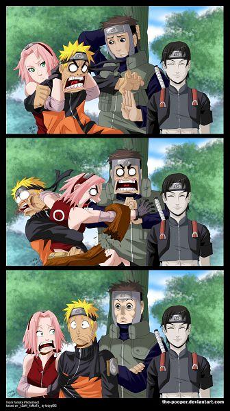 Tags: Anime, The-pooper, NARUTO, Sai, Yamato (NARUTO), Uzumaki Naruto, Haruno Sakura, deviantART, Mobile Wallpaper, Comic, Team 7