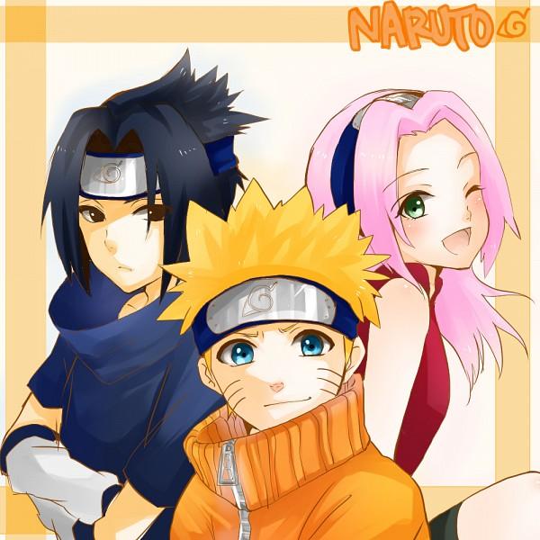 Tags: Anime, Pixiv Id 4996595, NARUTO, Uchiha Sasuke, Uzumaki Naruto, Haruno Sakura, Fanart From Pixiv, Pixiv, Fanart, Team 7
