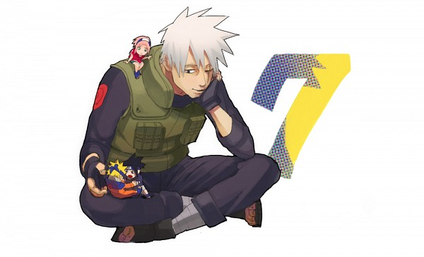 Tags: Anime, Pixiv Id 4960818, NARUTO, Uzumaki Naruto, Haruno Sakura, Hatake Kakashi, Uchiha Sasuke, Fanart From Pixiv, Pixiv, Fanart, Team 7