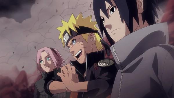 Tags: Anime, Poch0010, NARUTO, Uchiha Sasuke, Uzumaki Naruto, Haruno Sakura, Facebook Cover, Colorization, Team 7