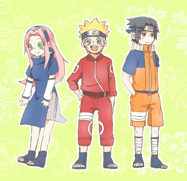 Tags: Anime, Pixiv Id 10564342, NARUTO, Haruno Sakura, Uchiha Sasuke, Uzumaki Naruto, Red Pants, Uzumaki Naruto (Cosplay), Orange Jacket, Orange Outerwear, Uchiha Sasuke (Cosplay), Orange Pants, Haruno Sakura (Cosplay)