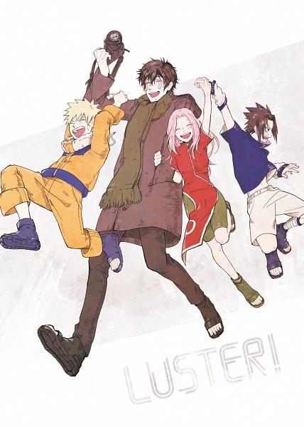 Tags: Anime, Pixiv Id 1748198, NARUTO, Uchiha Sasuke, Uzumaki Naruto, Sukea, Haruno Sakura, Hatake Kakashi, Wig, Mobile Wallpaper, Pixiv, Fanart, Fanart From Pixiv