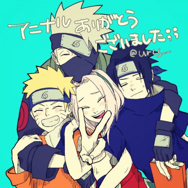 Tags: Anime, Pixiv Id 1748198, NARUTO, Uchiha Sasuke, Uzumaki Naruto, Haruno Sakura, Hatake Kakashi, Fanart From Pixiv, Pixiv, Fanart, Team 7