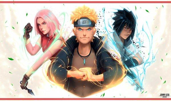 Tags: Anime, NARUTO, Haruno Sakura, Uchiha Sasuke, Uzumaki Naruto, Team 7