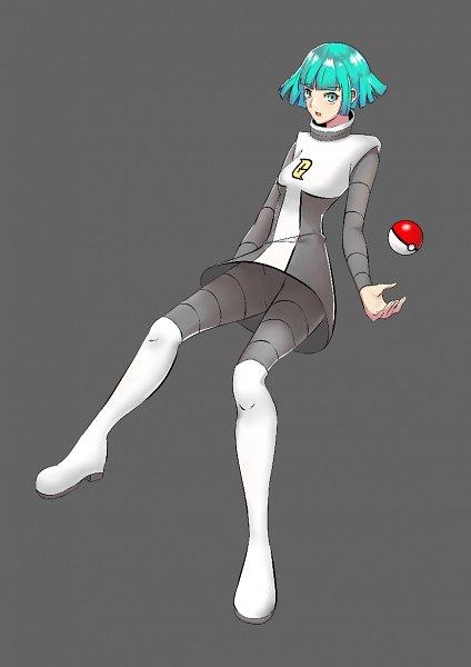 Team Galactic Underling (Female) - Pokémon Diamond & Pearl