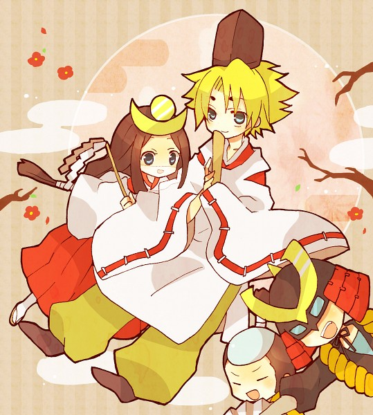 Tags: Anime, Nayu (Rhododendron), Cardfight!! Vanguard, Miwa Dainagon Taishi, Izaki Yuuta, Sendou Emi, Princess Maiden, Miwa Taishi, Ninja Master M, Izaki Yuuta (Gekokujou), Morikawa Katsumi, Pixiv, Fanart