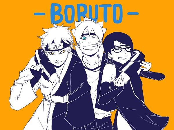 Tags: Anime, Pixiv Id 9941290, BORUTO, NARUTO, Mitsuki (NARUTO), Uzumaki Boruto, Uchiha Sarada, Wallpaper, Team Konohamaru
