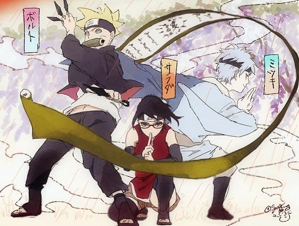 Team Konohamaru - NARUTO