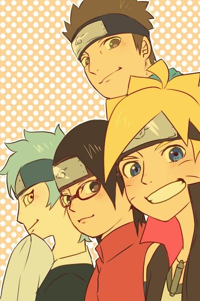 Tags: Anime, Pixiv Id 4519096, BORUTO: Naruto Next Generations, NARUTO, Mitsuki (NARUTO), Sarutobi Konohamaru, Uzumaki Boruto, Uchiha Sarada, Fanart From Pixiv, Pixiv, Mobile Wallpaper, Fanart, Team Konohamaru