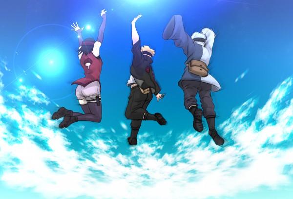Tags: Anime, Pixiv Id 2836060, BORUTO, NARUTO, Uchiha Sarada, Mitsuki (NARUTO), Uzumaki Boruto, Fanart, Fanart From Pixiv, PNG Conversion, Pixiv, Team Konohamaru