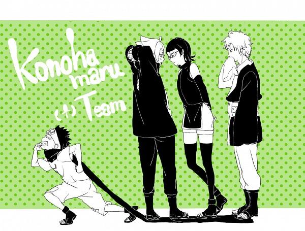 Tags: Anime, Pixiv Id 9808110, BORUTO, NARUTO, Uzumaki Boruto, Uchiha Sarada, Mitsuki (NARUTO), Sarutobi Konohamaru, Pixiv, Fanart, Fanart From Pixiv, Team Konohamaru