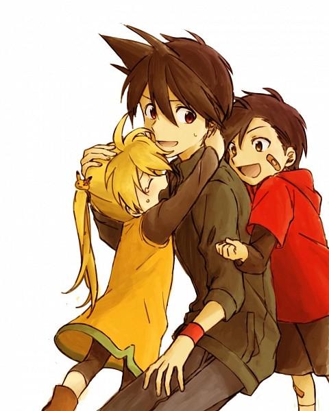 Tags: Anime, Kukuho, Pokémon SPECIAL, Pokémon, Yellow (Pokémon Special), Red (Pokémon SPECIAL), Gold (Pokémon SPECIAL), Fanart From Pixiv, Fanart, Pixiv, Team Lightning