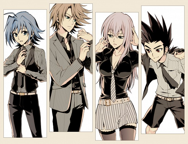 Team Q4 - Cardfight!! Vanguard
