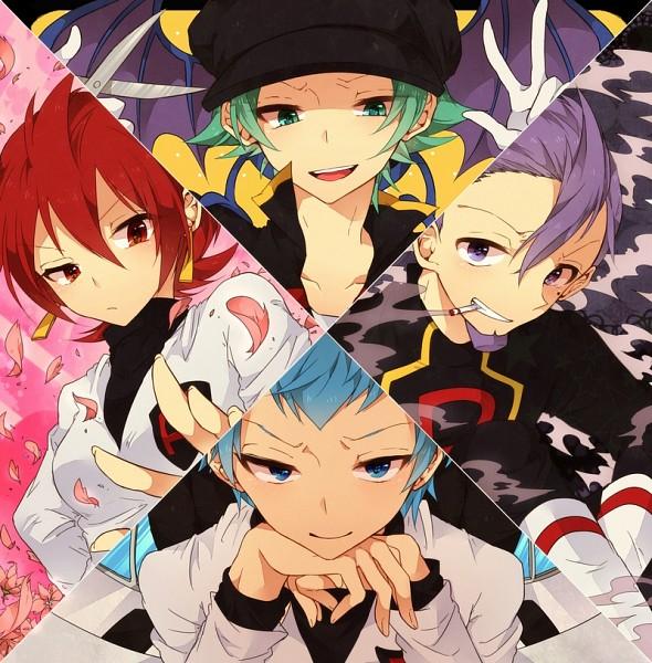 Tags: Anime, Tobari (Brokenxxx), Pokémon, Lance (Pokémon), Athena (Pokémon), Golbat, Lambda (Pokémon), Apollo (Pokémon), Pixiv, Fanart From Pixiv, Fanart, Team Rocket