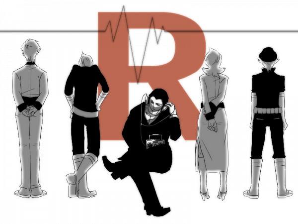 Tags: Anime, Pixiv Id 1267450, Pokémon, Sakaki (Pokémon), Lambda (Pokémon), Lance (Pokémon), Apollo (Pokémon), Athena (Pokémon), Radio, Pixiv, Team Rocket
