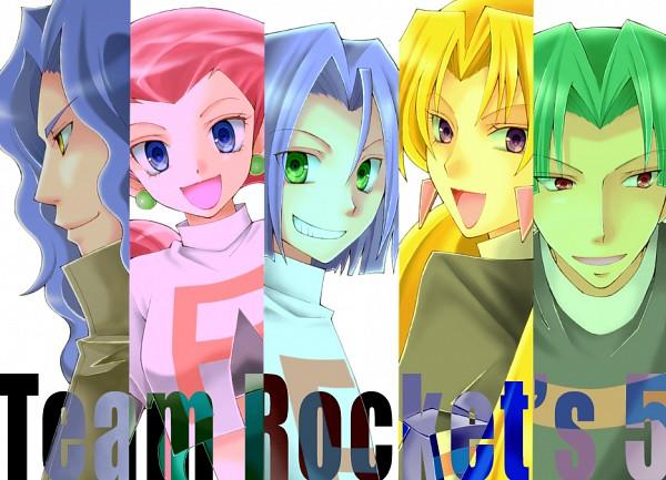 Tags: Anime, Pixiv Id 3102851, Pokémon, Kojirou (Pokémon), Musashi (Pokémon), Yamato (Pokémon), Kosaburou (Pokémon), Team Rocket