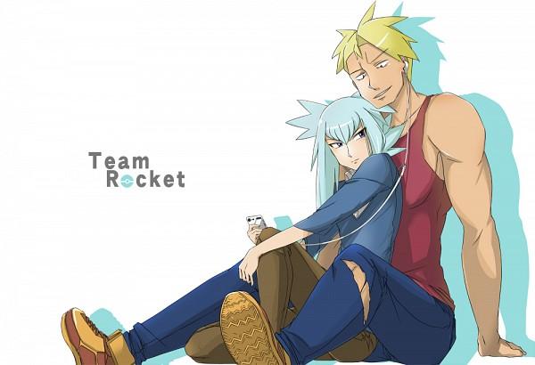 Tags: Anime, Pixiv Id 2798206, Pokémon, Bashou (Pokémon), Attila (Pokémon), Fanart From Pixiv, Fanart, Pixiv, Team Rocket